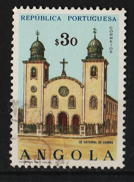 Angola 1963 Churches and Cathedrals $30 (1/18) USED