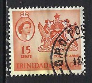 TRINIDAD & TOBAGO 116 VFU ARMS V245-4
