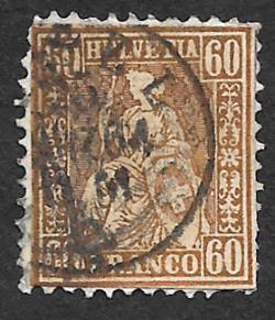 Switzerland 48 used 2013 SCV $210.00 perf issues -  15799..