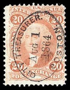 U.S. REV. FIRST ISSUE R41c  Used (ID # 86898)