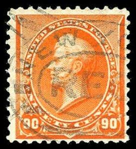 U.S. 1890-93 ISSUE 229  Used (ID # 80612)