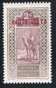 Upper Volta 2 MLH Camel with rider (BP1012)
