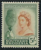Southern Rhodesia  SG 89 SC# 92  Mint Hinged Basket Maker