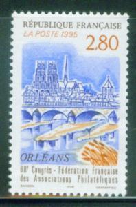 FRANCE Scott 2484, Yvert 2953 Orleans  MNH** 1995