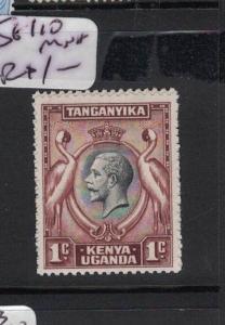 KENYA, UGANDA, TANGANYIKA  (B0602BB) KGV 1C BIRD  SG110  MNH