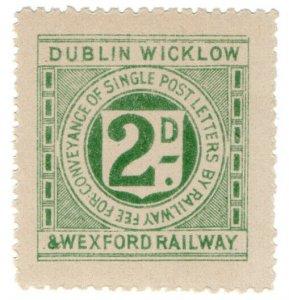 (I.B) Dublin, Wicklow & Wexford Railway : Letter 2d