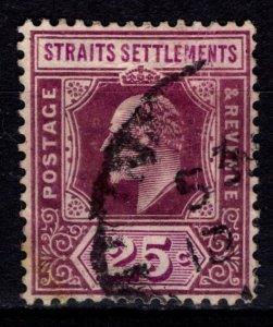 Straits Settlements 1903 Edward VII Definitive, 25c [Used]