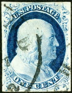 US Stamps # 9 Used Superb Choice