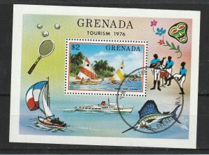 Grenada Used S/S Tourism Sailing 1976