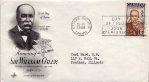 Canada, First Day Cover, Medical