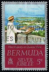 Bermuda #347 Queen's Visit to Bermuda; Used (0.30)