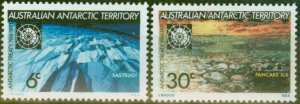 A.A.T 1971 Treaty set of 2 SG19-20 V.F MNH