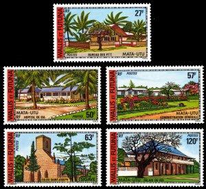 Wallis & Futuna Islands 1977 Scott #200-204 Mint Never Hinged