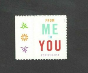 4978 From Me To You With 1 Sticker US Postage Single Mint/nh FREE SHIPPING