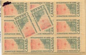 Canada - 1961 5c Northern Development X 50 mint #391