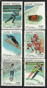 GUINEA BISSAU 505-10 CTO OLYMPICS 29D