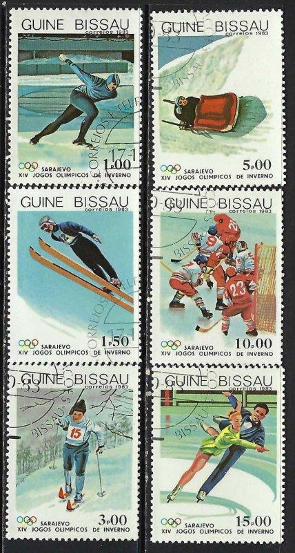 GUINEA BISSAU 505-10 CTO OLYMPICS 29D