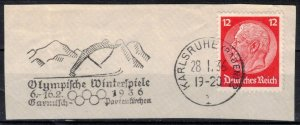 Germany - Reich - Scott 422 w/ Commemorative Cancel