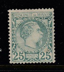Monaco #6 Kings (Mint Hinged) PSE Certificate cv$700.00