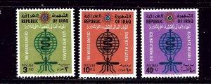 Iraq 314-16 MNH 1962 Anti-Malaria set