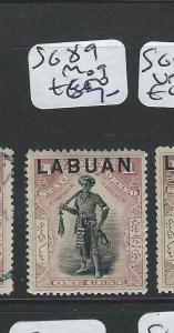 LABUAN  (P2201B)  1C MAN   SG 89   MOG