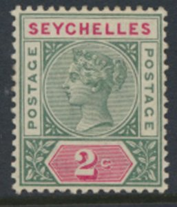 Seychelles  SG 1 Die I    SC# 1a  MH  1890   see details and scans