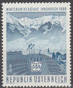 Austria #807  MNH F-VF (SU5206)