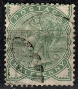 Great Britain #78  F-VF Used CV $13.50 (X1180)