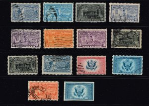 US STAMP BOB SPECIAL DELIVERY USED STAMPS COLLECTION LOT