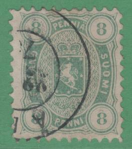 Finlande 19 N° Défauts 1875 Très Fine Attirant