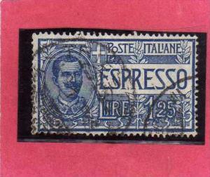 ITALIA REGNO ITALY KINGDOM 1925 1926 ESPRESSI EFFIGIE RE VITTORIO EMANUELE ES...