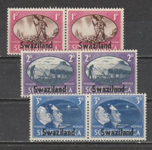Swaziland   38a-40b   (N**)    1945)    Complet