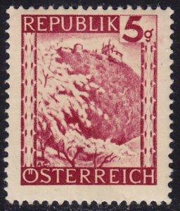 Austria - 1945 - Scott #457 - MNH - Leopoldsberg