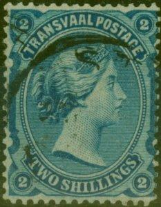 Transvaal 1878 2s Blue SG139 Fine Used