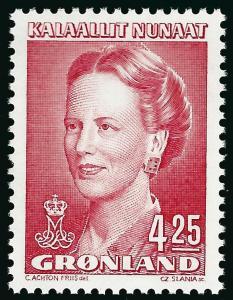Nice Greenland Slania #225 Queen Margrethe MNH VF...Kalaallit is Hot now!