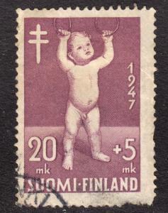Finland Scott B86  VG used.