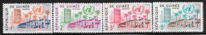 Guinea 190 - 193 mnh 2017 SCV $3.40  -  10605