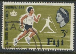 Fiji SG 356 SC# 226 Used  Pacific Games   see scan