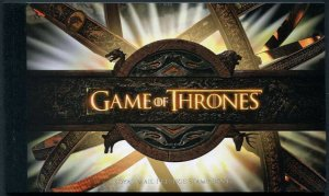 HERRICKSTAMP GREAT BRITAIN Sc.# BK219 Game of Thrones Prestige Booklet