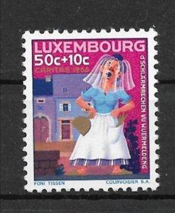 Luxembourg 1966 The Veiled Matron of Wormeldange MNH**