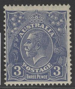 AUSTRALIA SG128 1932 3d ULTRAMARINE MNH