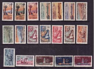 Somali Coast-Sc#248-66-Unused NH set-1947-