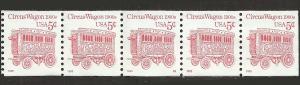 P.N.C. S2 # 2452Dg USED 1900'S CIRCUS WAGON