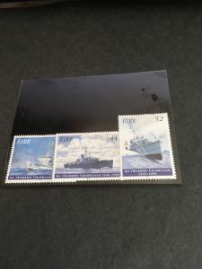 Ireland 2015 Sc. #1019-1021 Mint F+VF-HR Cat. $4.05 1996 50th Anniversary Naval
