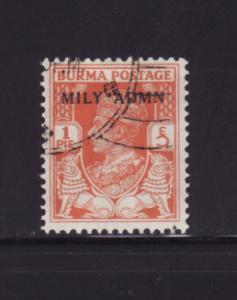 Burma 35 U King George VI