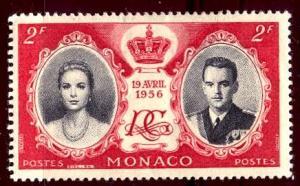 Monaco 1956: Sc. # 367; **/MNH Single Stamp