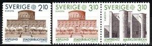 Sweden #1628-30  MNH  CV $5.70 (X1753)