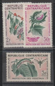 Central African Republic SC 53-5  Mint Never Hinged