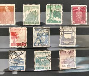 1942-49 Stamps