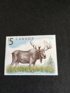 Canada #1693 Mint VF-NH 2003 $5. Moose Cat. USC$10. Attractive &VF-NH